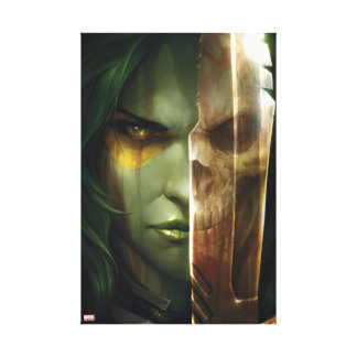 Guardians of the Galaxy | Gamora With Blade Canvas Print