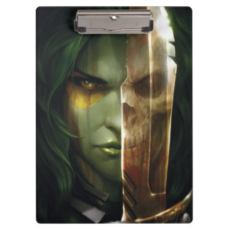 Guardians of the Galaxy   Gamora With Blade Clipboard