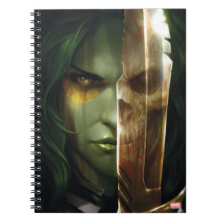 Guardians of the Galaxy | Gamora With Blade Notebook