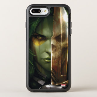 Guardians of the Galaxy | Gamora With Blade OtterBox Symmetry iPhone 8 Plus/7 Plus Case