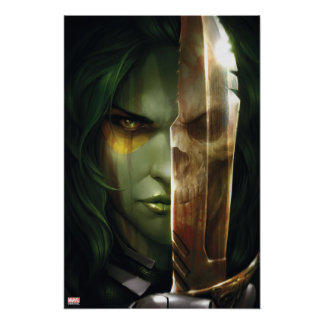 Guardians of the Galaxy | Gamora With Blade Poster