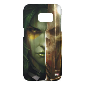 Guardians of the Galaxy | Gamora With Blade Samsung Galaxy S7 Case