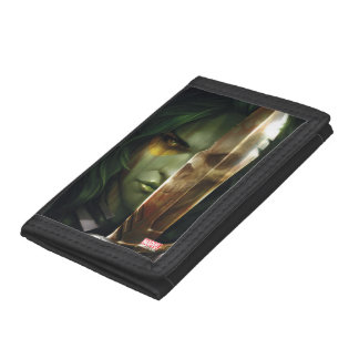 Guardians of the Galaxy | Gamora With Blade Tri-fold Wallet