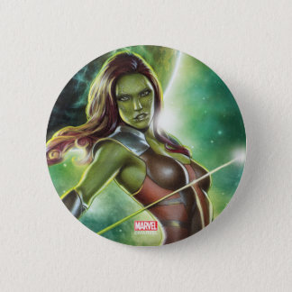 Guardians of the Galaxy | Gamora With Sword 2 Inch Round Button