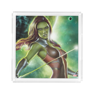 Guardians of the Galaxy | Gamora With Sword Acrylic Tray