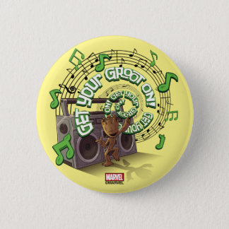 Guardians of the Galaxy | Groot Boombox 2 Inch Round Button