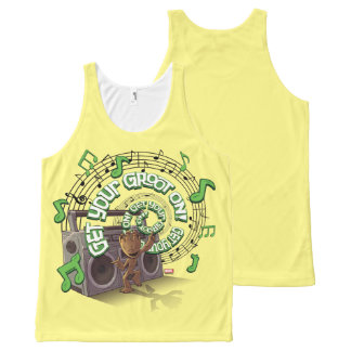 Guardians of the Galaxy | Groot Boombox All-Over-Print Tank Top