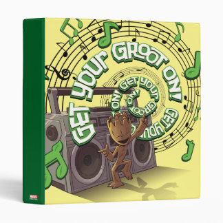 Guardians of the Galaxy | Groot Boombox Binder