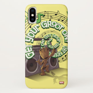 Guardians of the Galaxy | Groot Boombox Case-Mate iPhone Case