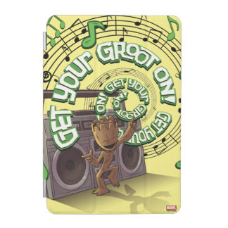 Guardians of the Galaxy | Groot Boombox iPad Mini Cover