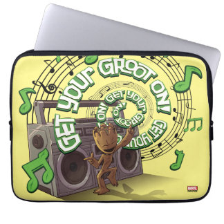 Guardians of the Galaxy | Groot Boombox Laptop Sleeve