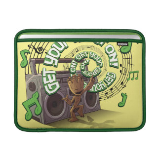 Guardians of the Galaxy | Groot Boombox MacBook Sleeve