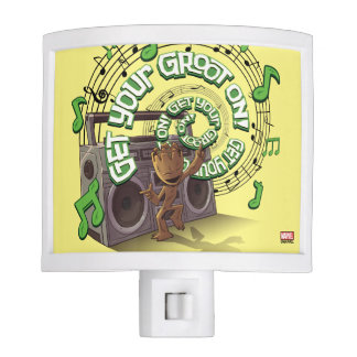 Guardians of the Galaxy   Groot Boombox Night Light