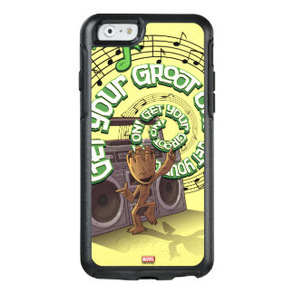 Guardians of the Galaxy | Groot Boombox OtterBox iPhone 6/6s Case