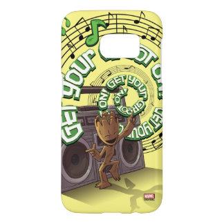 Guardians of the Galaxy | Groot Boombox Samsung Galaxy S7 Case