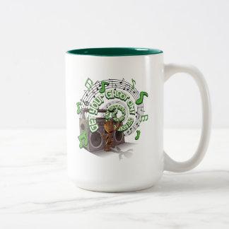 Guardians of the Galaxy | Groot Boombox Two-Tone Coffee Mug