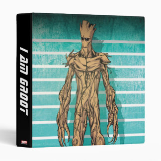 Guardians of the Galaxy | Groot Mugshot 3 Ring Binder