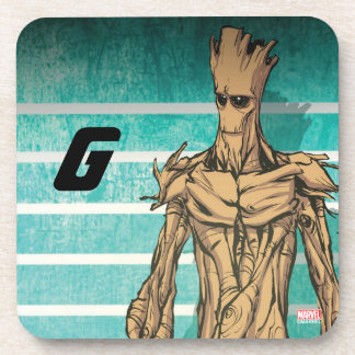 Guardians of the Galaxy | Groot Mugshot Beverage Coaster