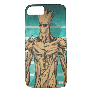 Guardians of the Galaxy | Groot Mugshot iPhone 8/7 Case
