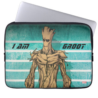 Guardians of the Galaxy | Groot Mugshot Laptop Sleeve