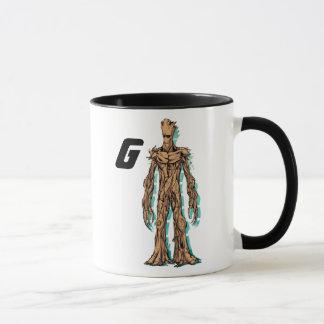 Guardians of the Galaxy | Groot Mugshot Mug