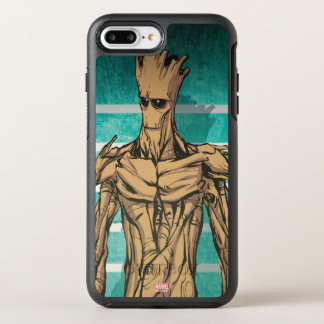 Guardians of the Galaxy | Groot Mugshot OtterBox Symmetry iPhone 8 Plus/7 Plus Case