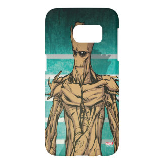 Guardians of the Galaxy | Groot Mugshot Samsung Galaxy S7 Case