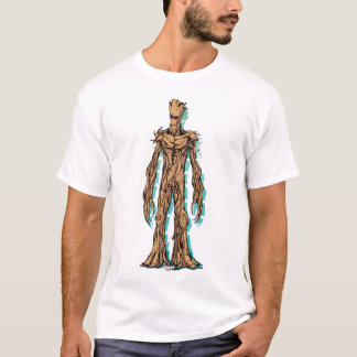 Guardians of the Galaxy | Groot Mugshot T-Shirt