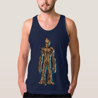 Guardians of the Galaxy | Groot Mugshot Tank Top