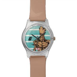Guardians of the Galaxy   Groot Mugshot Watch