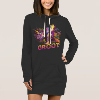 Guardians of the Galaxy | Groot Neon Graphic Dress