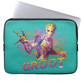 Guardians of the Galaxy | Groot Neon Graphic Laptop Sleeve