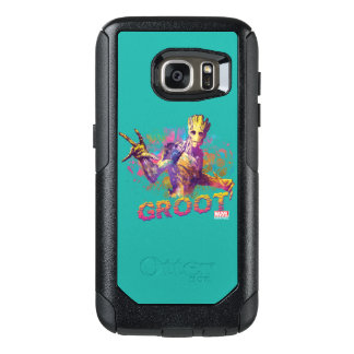 Guardians of the Galaxy | Groot Neon Graphic OtterBox Samsung Galaxy S7 Case