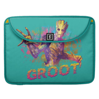 Guardians of the Galaxy | Groot Neon Graphic Sleeve For MacBook Pro