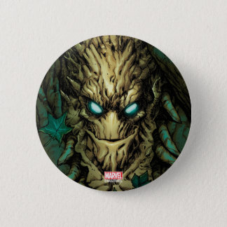 Guardians of the Galaxy | Groot Through Branches 2 Inch Round Button