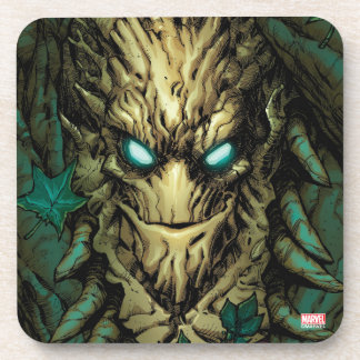 Guardians of the Galaxy | Groot Through Branches Beverage Coasters