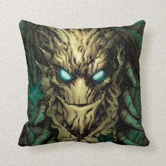 Guardians of the Galaxy | Groot Through Branches Throw Pillow