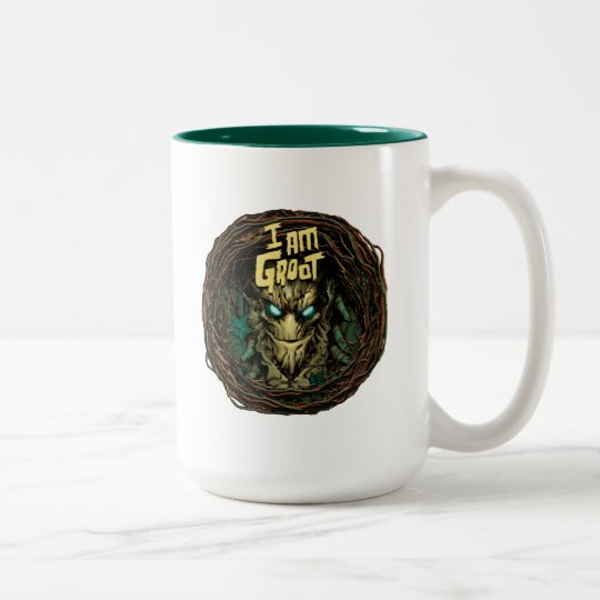 Guardians of the Galaxy | Groot Through Branches Two-Tone Coffee Mug
