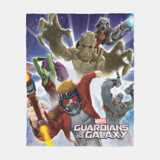 Guardians of the Galaxy | Group Attack Fleece Blanket