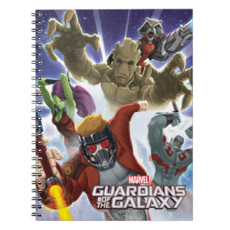 Guardians of the Galaxy | Group Attack Spiral Notebook