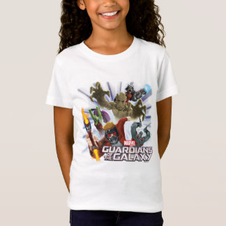 Guardians of the Galaxy | Group Attack T-Shirt