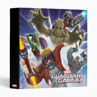 Guardians of the Galaxy | Group Attack Vinyl Binders