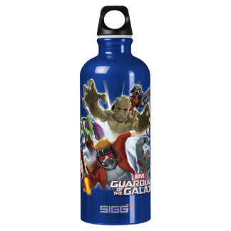 Guardians of the Galaxy | Group Attack Water Bottle
