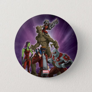 Guardians of the Galaxy | Group In Space 2 Inch Round Button