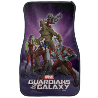 Guardians of the Galaxy   Group In Space Car Mat