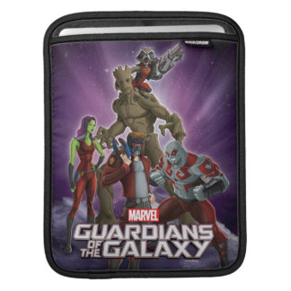 Guardians of the Galaxy | Group In Space iPad Sleeve
