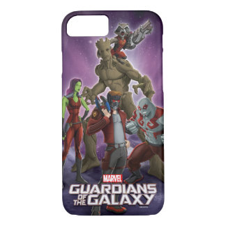Guardians of the Galaxy | Group In Space iPhone 8/7 Case