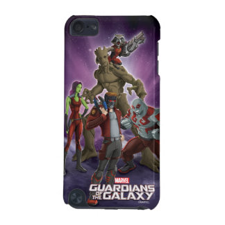 Guardians of the Galaxy   Group In Space iPod Touch (5th Generation) Case