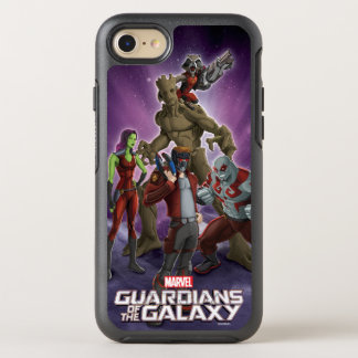 Guardians of the Galaxy | Group In Space OtterBox Symmetry iPhone 7 Case