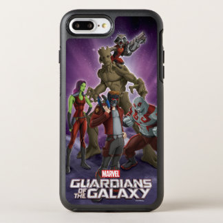 Guardians of the Galaxy | Group In Space OtterBox Symmetry iPhone 8 Plus/7 Plus Case
